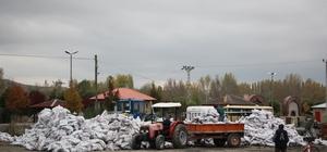 Zara'da 720 aileye kömür yardımı yapıldı