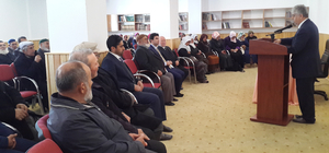 """Karakeçili'de """"Dünya ve Ahret Hayatı"""" konferansı"""