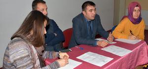 Halk eğitimden bilgilendirme toplantısı