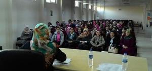 Sason'da mahremiyet ve kadın ilmihali konferansı