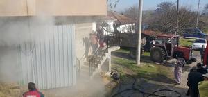 Sakarya'da depo  yangın