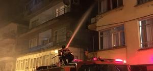 Arhavi'de ev yangını