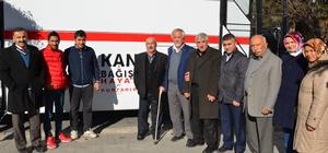 AK Parti Kızılcahamam Teşkilatından kan bağışı kampanyası