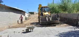 Aydınlar'da yollar kilit parke taşıyla kaplanıyor