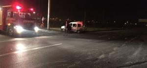 Akyazı'da trafik kazası: 4 yaralı