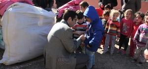 Güce'de öğrencilere yardım