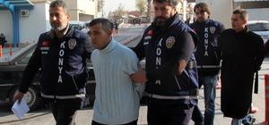 Konya'da yanan otomobilde bulunan erkek cesedi