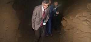 Vali Bektaş, Pileki Mağarasını ziyaret etti