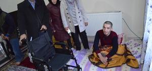 Engelli gence Bursa'dan yardım eli uzandı