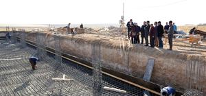 Kırşehir asri mezarlık inşaatı