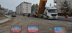 Palandöken Belediyesinden asfalt çalışmaları