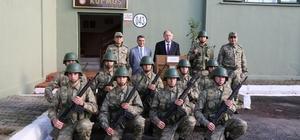 Artvin Valisi Doğanay 1. Hudut Yolbaşı Hudut Karakolu'nu ziyaret etti