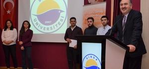 Sinop'ta geleceğin girişimcilerine sertifika verildi