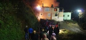 Of'ta ev yangını