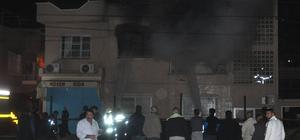 Ateşe verdiği annesinin evinin yanışını izledi