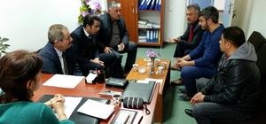 Başkan Gürsoy'dan hastane ziyareti