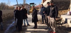 Adilcevaz'da belediye çalışmaları