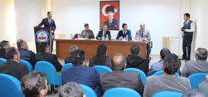 Dinar'da halk toplantısı
