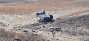 Kırıkkale'de otomobil devrildi: 1 ölü, 2 yaralı