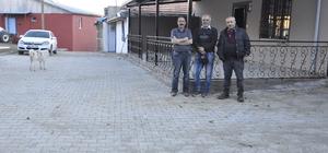 Hayırsever iş adamından Arguvan'a kilit parke taşı