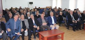 Erbaa'da kırsal kalkınma bilgilendirme toplantısı yapıldı