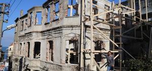 İnebolu'da tarihi bina restore ediliyor