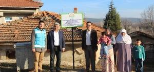 Hisarcık'ta genç çiftçilere büyükbaş hayvan dağıtımı