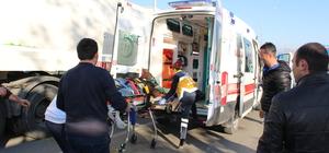 Tokat'ta motosiklet tıra çarptı: 1 ölü, 1 yaralı
