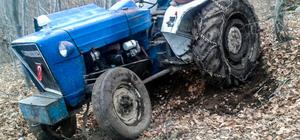 Kütahya'da traktör devrildi: 1 ölü