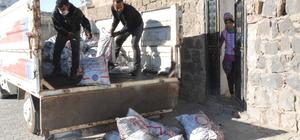 Siverek'te kömür yardımı