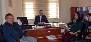 AK Parti İscehisar İlçe Başkanı Dikmen'den diş hekimlerine ziyaret