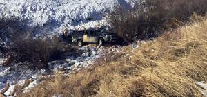 Kars'ta tarafik kazası: 1 yaralı