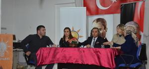 AK Parti Malkara İlçe Danışma Kurulu toplantısı