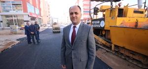 Beyşehir'de asfalt çalışmaları