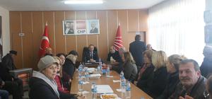CHP Vezirköprü İlçe Başkanlığı Danışma Kurulu Toplantısı