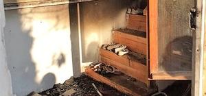 Merzifon'da yangını