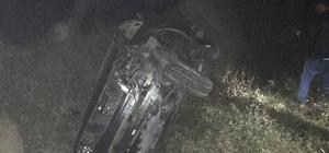 Hatay'da hemzemin geçitte kaza
