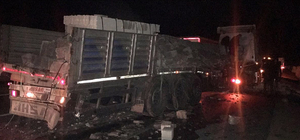 Uşak'ta trafik kazası : 1 ölü, 3 yaralı