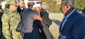 Asker ziyaretine giden aileye terör saldırısı