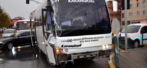 Halk otobüsü ile tır çarpıştı: 6 öğrenci yaralı