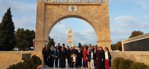 Şehit aileleri için Çanakkale gezisi düzenlendi