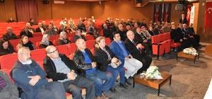 Malkaralı arıcılara konferans verildi