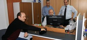 Yalova'da çipli kimlik kartı dağıtımı