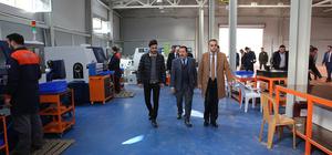 Vali Balkanlıoğlu, silah fabrikasını gezdi