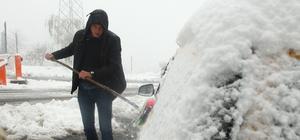 Kırklareli'nde kar