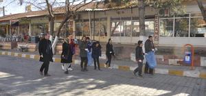 Arguvanlı öğrencilerden çevre temizliği
