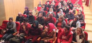 Gülnar'da yaşlı ve refakatçi kursları açıldı