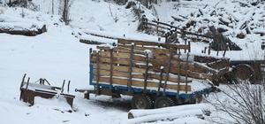 Kırklareli'de kar etkisini yitirdi