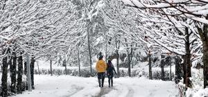 Kastamonu'da kar yağışı etkili oluyor