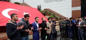 Üniversiteliler şehit Kaymakam Safitürk'ü andı